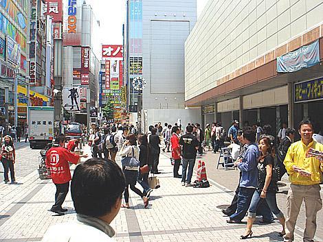 JR秋葉原駅前の様子