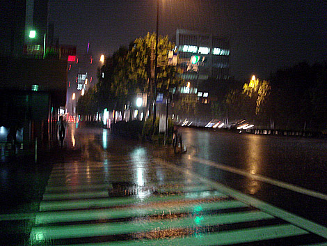 赤坂郵便局前