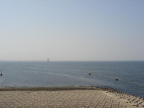 海ほたるからの風景